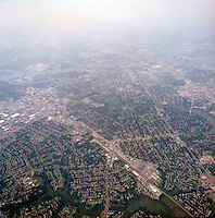 1998 September 05..Aerial..High altitude of census tracts around Elizabeth River in Portsmouth & Norfolk..Gene Woolridge.NEG# 11678 - 50.NRHA#..