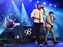 COCONUT CREEK, FL - FEBRUARY 28: Nick Lachey and Justin Jeffre of 98 Degrees perform on stage at Seminole Casino Coconut Creek on February 28, 2020 in Coconut Creek, Florida. ( Photo by Johnny Louis / jlnphotography.com )