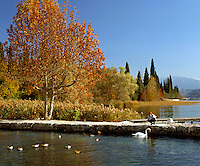 Italy, Lombardy, Lake Garda, San Vigilio