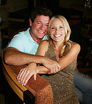 Guiding Light's Michael O'Leary and Beth Chambefrlin - Welcome Aboard Party- Spend Time with friends and the actors on the dance floor, grooving to disco, hits of today and classic tunes on Day 1 Saturday evening July 31, 2010 - So Long Springfield at Sea - A Final Farewell To Guiding Light sets sail from NYC to St. John, New Brunwsick and Halifax, Nova Scotia from July 31 to August 5, 2010  aboard Carnival's Glory (Photos by Sue Coflin/Max Photos)