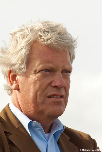 Werkbezoek deltacommissaris Wim Kuijken aan Ameland.