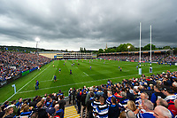 A general view of the Recreation Ground prior to the match. Gallagher Premiership match, between Bath Rugby and Gloucester Rugby on September 8, 2018 at the Recreation Ground in Bath, England. Photo by: Patrick Khachfe / Onside Images