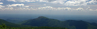 blue ridge mountains shenandoah overlook view