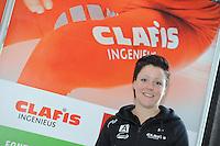 SCHAATSEN: HEERENVEEN: 23-09-2014, Perspresentatie Team Clafis, Jorien ter Mors, ©foto Martin de Jong