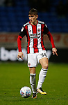 David Brooks of Sheffield Utd during the Championship match at the Macron Stadium, Bolton. Picture date 12th September 2017. Picture credit should read: Simon Bellis/Sportimage