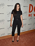 HOLLYWOOD, CA - JULY 11: Teresa Ruiz attends Amazon Studios Premiere of 'Don't Worry, He Wont Get Far On Foot' at ArcLight Hollywood on July 11, 2018 in Hollywood, California.