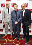 Taylor Mac, Nathan Lane and George C. Wolfe attends The New Dramatists 70th Annual Spring Luncheon honoring Nathan Lane at Marriott Marquis on May 14, 2019  in New York City.
