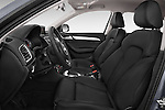 Front seat view of a 2015 Audi Q3 Sport 5 Door SUV front seat car photos