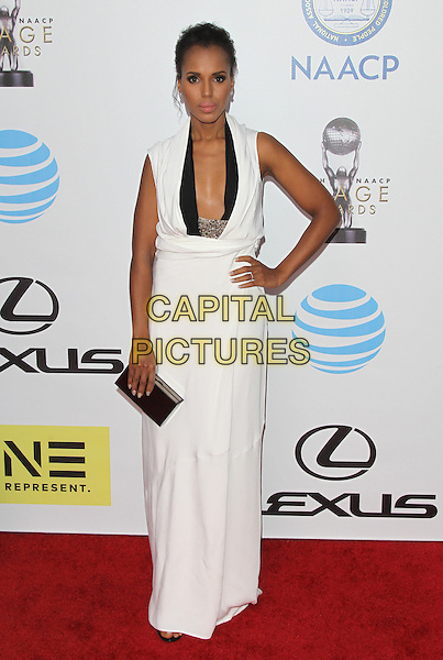 PASADENA, CA - FEBRUARY 5: Kerry Washington at the 47th NAACP Image Awards presented by TV One at Pasadena Civic Auditorium on February 5, 2016 in Pasadena, California. <br /> CAP/MPI25<br /> &copy;MPI25/Capital Pictures