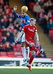 03.03.2019 Aberdeen v Rangers: Connor Goldson and Gary Mackay-Steven