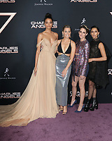 "LOS ANGELES - NOV 11:  Ella Balinska, Elizabeth Banks, Kristen Stewart, Naomi Scott at the ""Charlie's Angels"" Premiere at the Village Theater on November 11, 2019 in Westwood, CA"