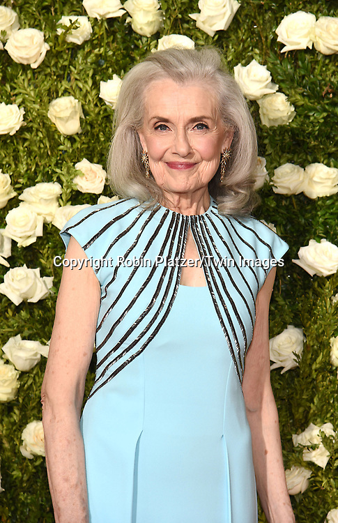 Mary Beth Peil attends the 71st Annual  Tony Awards on June 11, 2017 at Radio City Music Hall in New York, New York, USA.<br /> <br /> photo by Robin Platzer/Twin Images<br />  <br /> phone number 212-935-0770