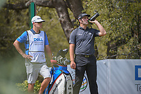 Jon Rahm (ESP) waits to tee off on 10 during day 2 of the World Golf Championships, Dell Match Play, Austin Country Club, Austin, Texas. 3/22/2018.<br /> Picture: Golffile | Ken Murray<br /> <br /> <br /> All photo usage must carry mandatory copyright credit (&copy; Golffile | Ken Murray)