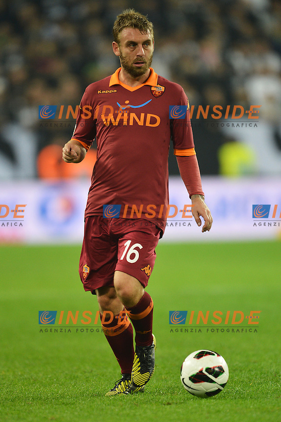 """Daniele De Rossi Roma.Torino 29/9/2012 Stadio """"Juventus Stadium"""".Football Calcio Serie A 2012/2013.Juventus Vs Roma.Foto Andrea Staccioli Insidefoto"""