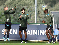 4th November 2019; Castelvolturno training center , Campania, Italy; UEFA Champions League Group Stage Football, Napoli versus Red Bull Salzburg, Napoli Training: - Editorial Use