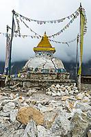 Stupa, Namche Bazar, Nepal