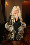 Alla Asha Attends Couture Fashion Week Fall 2013 Collections Day 3, The New Yorker Grand Ballroom, NY 2/17/13