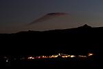 Silver mine at dusk, Pirquitas Mine, Abra Granada, Andes, northwestern Argentina