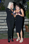 Italian singer Raffaella Carra and Spanish actress Loles Leon receives the World Pride Award 2017 at Italian Embassy in Madrid, June 27, 2017. Spain.<br /> (ALTERPHOTOS/BorjaB.Hojas)
