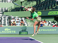 EUGENIE BOUCHARD (CAN)<br /> <br /> MIAMI OPEN, CRANDON PARK, KEY BISCAYNE, FLORIDA, USA<br /> <br /> &copy; TENNIS PHOTO NETWORK