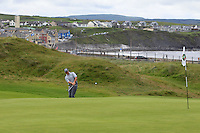 Colm Campbell Jnr (Warrenpoint) on the 3rd during Matchplay Round 1 of the South of Ireland Amateur Open Championship at LaHinch Golf Club on Friday 22nd July 2016.<br /> Picture:  Golffile | Thos Caffrey<br /> <br /> All photos usage must carry mandatory copyright credit   (© Golffile | Thos Caffrey)