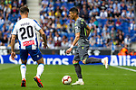 Real Sociedad's Hector Moreno and RCD Espanyol's Javi Puado  during La Liga match. May, 18th,2019. (ALTERPHOTOS/Alconada)