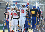 BROOKINGS, SD - NOVEMBER 11: Tylor Petkovich #85 from Illinois State celebrates a touchdown against South Dakota State University during their game Saturday afternoon at Dana J. Dykhouse Stadium in Brookings. (Photo by Dave Eggen/Inertia)