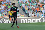 Betis's goalkeeper Adan during the match between Real Betis and Recreativo de Huelva day 10 of the spanish Adelante League 2014-2015 014-2015 played at the Benito Villamarin stadium of Seville. (PHOTO: CARLOS BOUZA / BOUZA PRESS / ALTER PHOTOS)