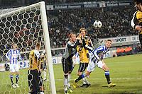 VOETBAL: SC HEERENVEEN: Abe Lenstra Stadion, 17-02-2012, SC-Heerenveen-NAC, Eredivisie, Eindstand 1-0, redding Jelle ten Rouwelaar, ©foto: Martin de Jong
