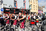 The parade at  Puck Fair on Monday