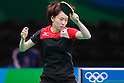 Kasumi Ishikawa (JPN), <br /> AUGUST 4, 2016 - Table Tennis : <br /> Men's and Women's Training session <br /> at Riocentro - Pavilion 3 <br /> during the Rio 2016 Olympic Games in Rio de Janeiro, Brazil. <br /> (Photo by Sho Tamura/AFLO SPORT)