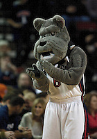 Dec 04, 2010:  The Gonzaga Bulldogs mascot Spike was on hand to show support for the bulldogs against Illinois. Illinois won 73-61 over Gonzaga in the annual Battle in Seattle held in Seattle, Washington...