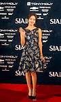 Han Groo, Oct 28, 2014 : South Korean singer and actress Han Groo arrives before the 2014 Style Icon Awards (SIA) in Seoul, South Korea. The SIA is a style and culture festival. (Photo by Lee Jae-Won/AFLO) (SOUTH KOREA)