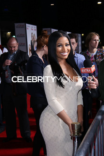 "WESTWOOD, LOS ANGELES, CA, USA - APRIL 21: Nicki Minaj arrives at the Los Angeles Premiere Of Twentieth Century Fox's ""The Other Woman"" held at the Regency Village Theatre on April 21, 2014 in Westwood, Los Angeles, California, United States. (Photo by David Acosta/Celebrity Monitor)"