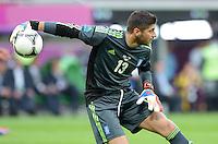 FUSSBALL  EUROPAMEISTERSCHAFT 2012   VORRUNDE Griechenland - Tschechien         12.06.2012 Michalis Sifakis (Griechenland)