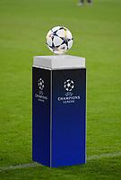 20.02.2018, Football UEFA Champions League 2017/2018, , FC Bayern Muenchen - Besiktas Istanbul, in Allianz Arena Muenchen, Der Spielball of  ADIDAS FINALE liegt auf der Stele bereit. *** Local Caption *** © pixathlon