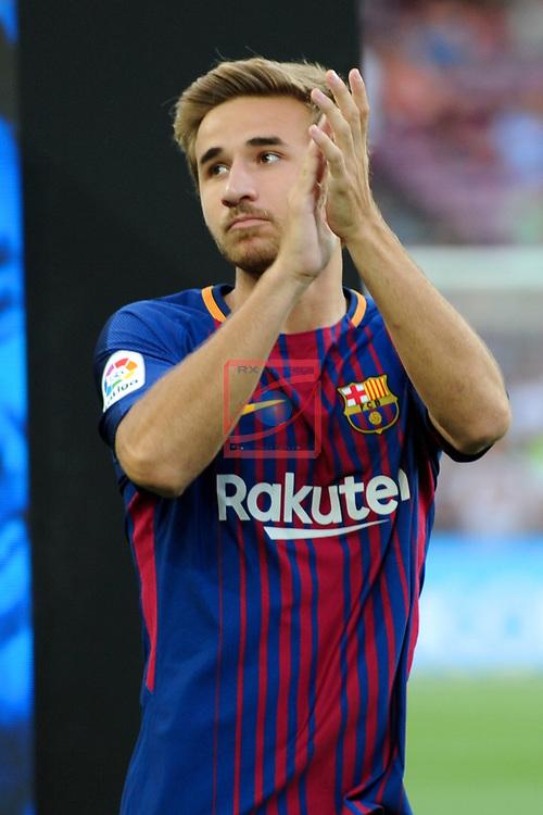 52e Trofeu Joan Gamper.<br /> FC Barcelona vs Chapecoense: 5-0.<br /> Samper.