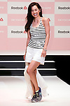 """Fashion model Anne Nakamura walks down the catwalk during the Reebok Skyscape Fashion Show on April 15, 2015, Tokyo, Japan. Miranda Kerr, who is very popular in Japan, is the Reebok global ambassador for the new footwear line """"Skyscape"""". Models Anne Nakamura, Tina Tamashiro and Funassyi, mascot of Funabashi city in Chiba, also attended the event. (Photo by Rodrigo Reyes Marin/AFLO)"""