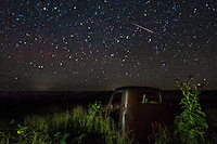Meteor in the Ghost Town of Endee New Mexico on Route 66.