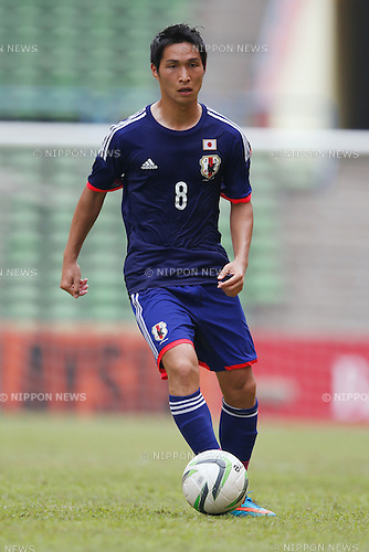 Riki Harakawa (JPN), MARCH 27, 2015 - Football / Soccer : AFC U-23 Championship 2016 Qualification Group I match between U-22 Japan 7-0 U-22 Macau at Shah Alam Stadium in Shah Alam, Malaysia. (Photo by Sho Tamura/AFLO SPORT)