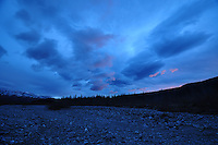 Denali National Park evening clouds