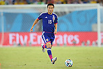 Yasuyuki Konno (JPN), <br /> JUNE 19, 2014 - Football /Soccer : <br /> 2014 FIFA World Cup Brazil <br /> Group Match -Group C- <br /> between Japan 0-0 Greece <br /> at Estadio das Dunas, Natal, Brazil. <br /> (Photo by YUTAKA/AFLO SPORT)