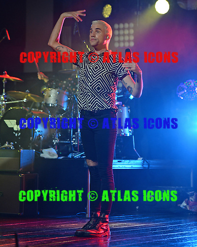 FORT LAUDERDALE FL - JULY 09: Tyler Glenn of Neon Trees performs at Revolution on July 9, 2015 in Fort Lauderdale, Florida. Photo by Larry Marano © 2015