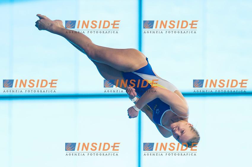 PROKOPCHUK Iuliia UKR<br /> London, Queen Elizabeth II Olympic Park Pool <br /> LEN 2016 European Aquatics Elite Championships <br /> Diving<br /> Women's 10m platform preliminary <br /> Day 05 13-05-2016<br /> Photo Giorgio Perottino/Deepbluemedia/Insidefoto