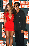 NEW YORK, New York - September 13: Beyonce Knowles and Frank Gatson pose in the press room at the 2009 MTV Video Music Awards at Radio City Music Hall on September 13, 2009 in New York City.