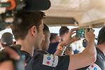 07.01.2019, Broederstroom, Johannesburg, RSA, TL Werder Bremen Johannesburg Tag 05 - Besuch Lion and Safari Park<br /> <br /> im Bild / picture shows <br /> <br /> Ilia Gruev (Werder Bremen #28) filmt den Safari Ausflug <br /> <br /> Foto © nordphoto / Kokenge