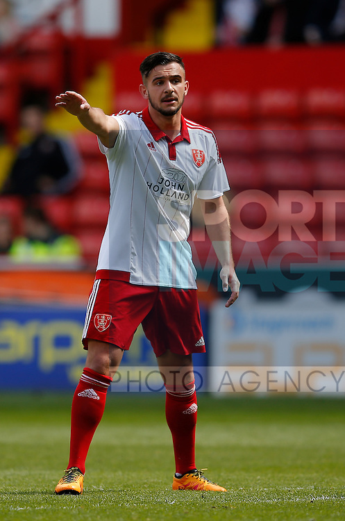 Diego De Girolamo of Sheffield Utd during the PDL U21 Final at Bramall Lane Sheffield. Photo credit should read: Simon Bellis/Sportimage