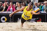 09.05.2015, Muenster, Schlossplatz<br /> smart beach tour, Supercup MŸnster / Muenster, Hauptfeld<br /> <br /> Abwehr Todd Rogers <br /> <br />   Foto &copy; nordphoto / Kurth