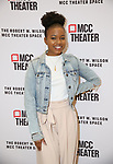 """Renika Williams attends the rehearsal photo call for the MCC Theater's production of """"All The Natalie Portmans"""" on January 15, 2019 in New York City."""