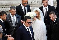 20130505 ROMA-CRONACA ROSA: VALERIA MARINI SPOSA L'IMPRENDITORE GIOVANNI COTTONE